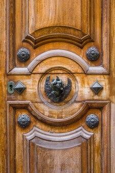 Traditional front door from malta