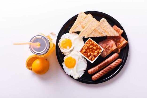 Traditional full english breakfast
