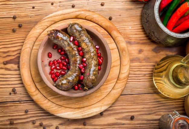 Традиционная грузинская кухня, колбаса