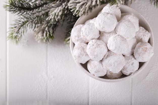 Traditional greek christmas cookies