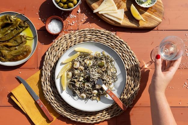 Composizione del piatto tradizionale gulas