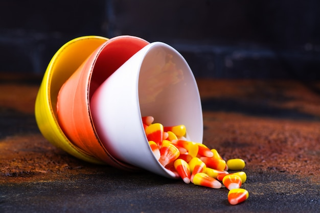 Traditional halloween sweets