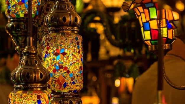 전통 수제 터키 램프