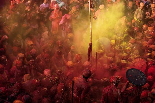 Traditional holi festival