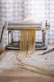 Traditional home made pasta