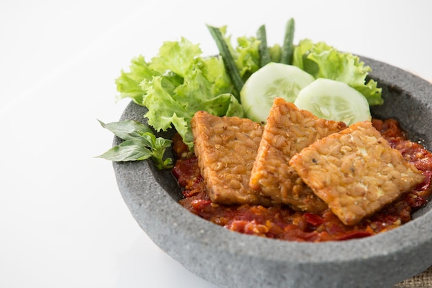 伝統的なインドネシア料理
