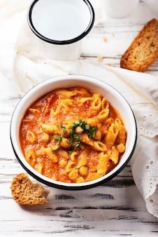 Traditional italian pasta dish