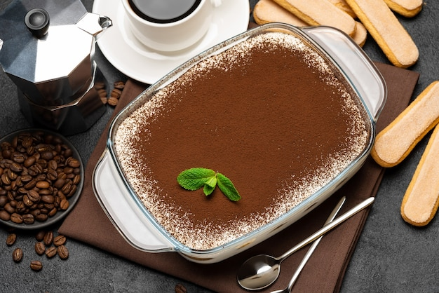 Традиционный итальянский десерт тирамису