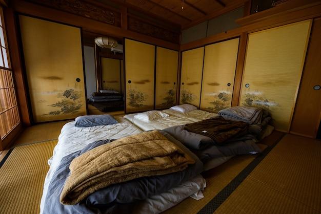 Traditional japanese style room (ryokan)