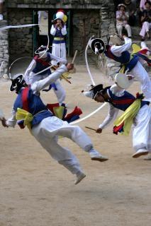 Корейский традиционный танец