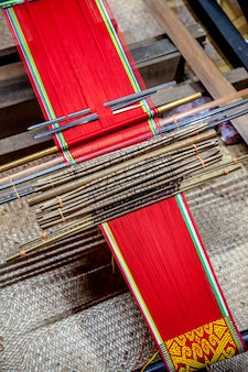 Traditional loom detail