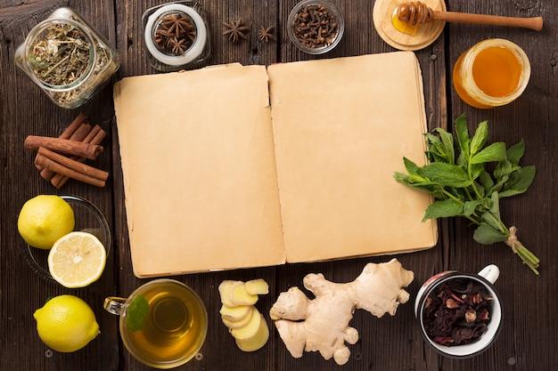 Traditional medicine, old recipes for traditional medicine. traditional chinese herbs used in alternative herbal medicine