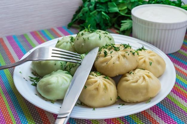 Traditional national caucasian dish