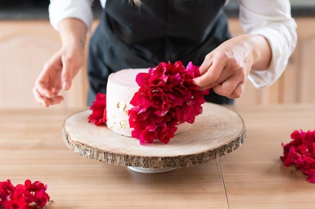 Traditional red velvet cake