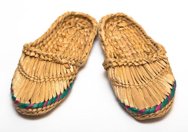 伝統的なロシアのヴィンテージ靴ラプティ