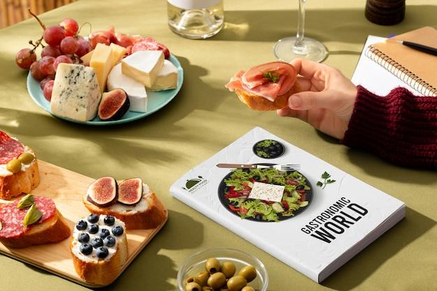 世界観光の日の伝統的なスペイン料理
