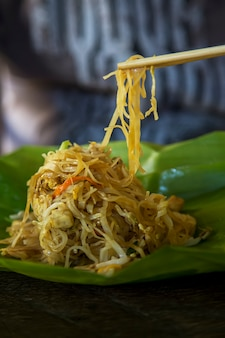 Traditional thai food style