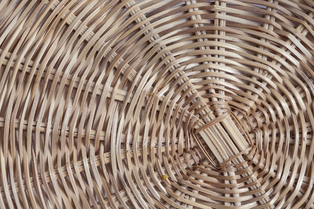 Traditional thai style handcraft weave . rattan texture for background