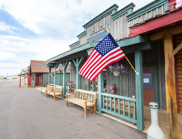 Traditional tourist place in usa