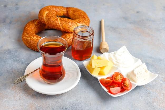 Colazione tradizionale turca.