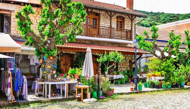 Традиционные деревни острова кипр