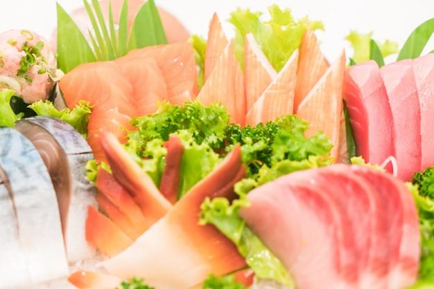 Tradizionale wasabi di pesce giapponese gustoso