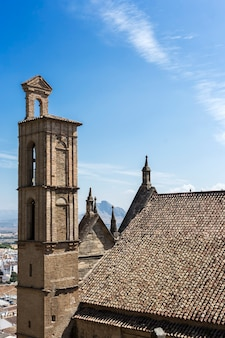 Traditional white andalusian villages with views. antequera. malaga. spain