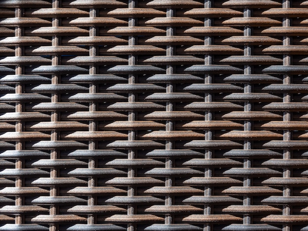 Traditional wicker surface texture pattern