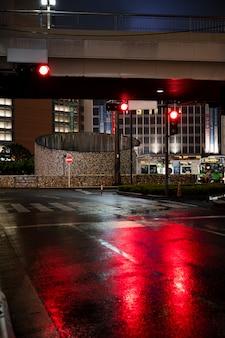 Traffic light for city streets