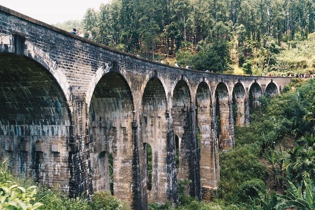Train bridge in sri lanka