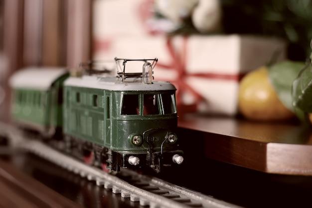 기차 복고풍 톤 모델