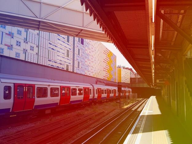 Trasporto di pendolari per il tempo libero della stazione ferroviaria