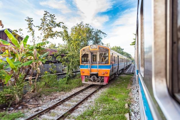 방콕에서 태국 시골에서 기차 여행