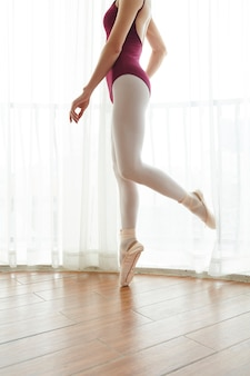 Тренировка артиста балета