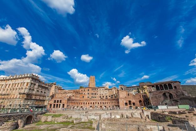 Trajan market in rome