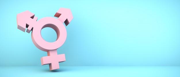 Значок транссексуалов