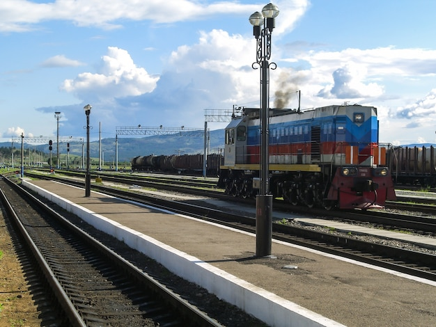 Transiberian train russia