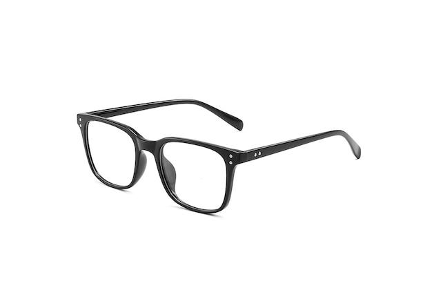 고립 된 투명 안경