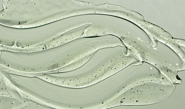 Прозрачный увлажняющий гель для ухода за кожей