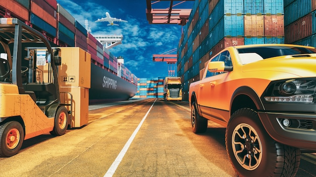 Transportation and logistics.