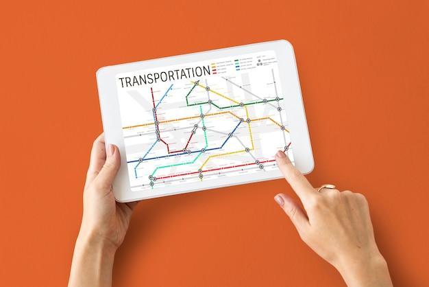 Sistema di trasporto di veicoli trasporto di automobili