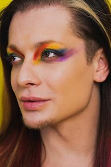 성전환 남성 초상화, 게이, 레즈비언, 트랜스젠더 및 동성애 공포증에 대한 개념적 지원