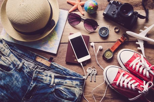 Travel accessories costumes
