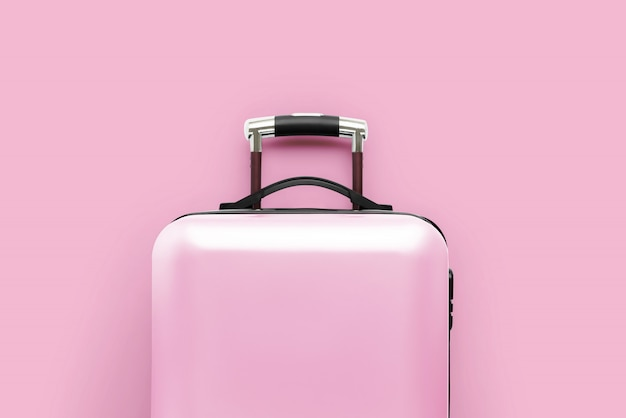 Travel & airplanewith the luggage