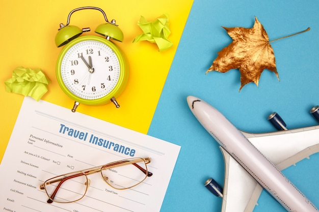 여행 및 상해 보험