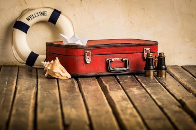 旅行と冒険のコンセプト
