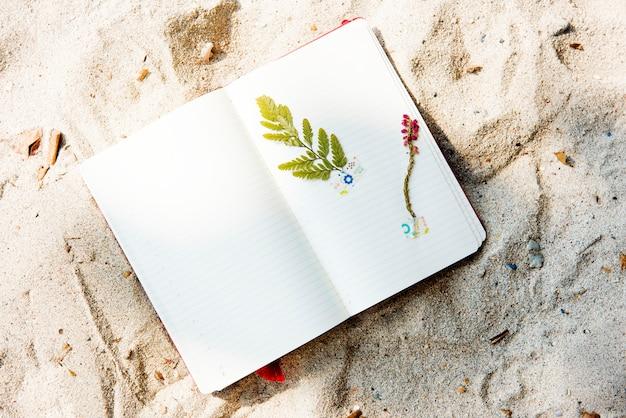 Concetto di momenti di ricordi del diario di viaggio