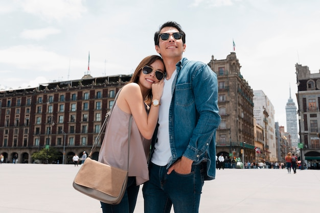 Travel discovering places with love ones