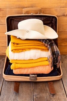 荷物の旅行要素構成