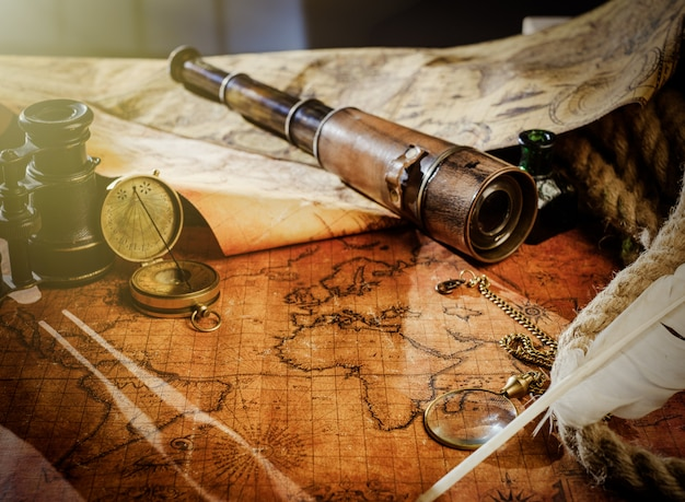 Travel geography navigation